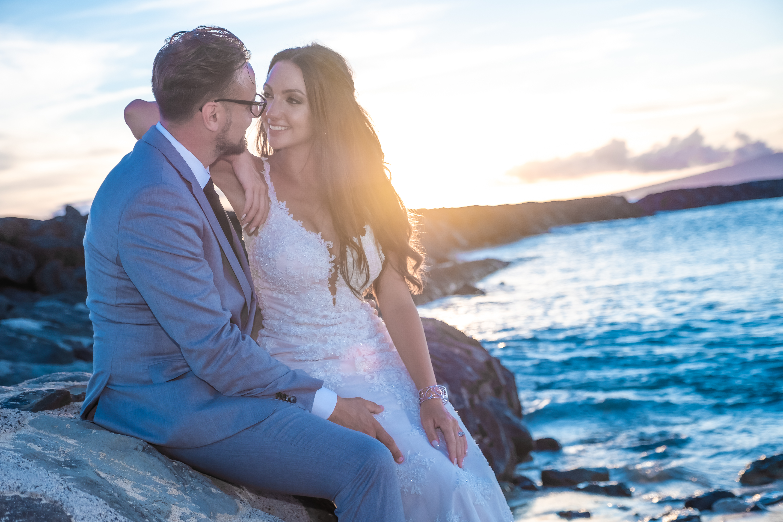 Magic island Hawaii beach wedding -63