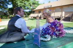 Wedding in Hawaii sand ceremony 15