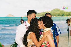 Beach wedding in Kailua-52