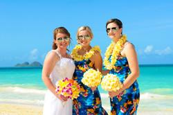 Hawaii beach wedding - lotus car 12