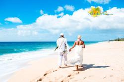 Oahu North shore wedding -13