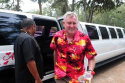 Hawaii beach wedding - lotus car 39