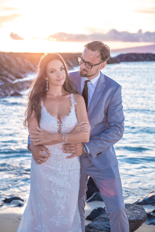 Magic island Hawaii beach wedding -45