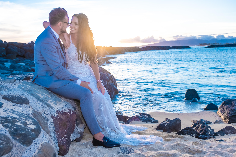 Magic island Hawaii beach wedding -64