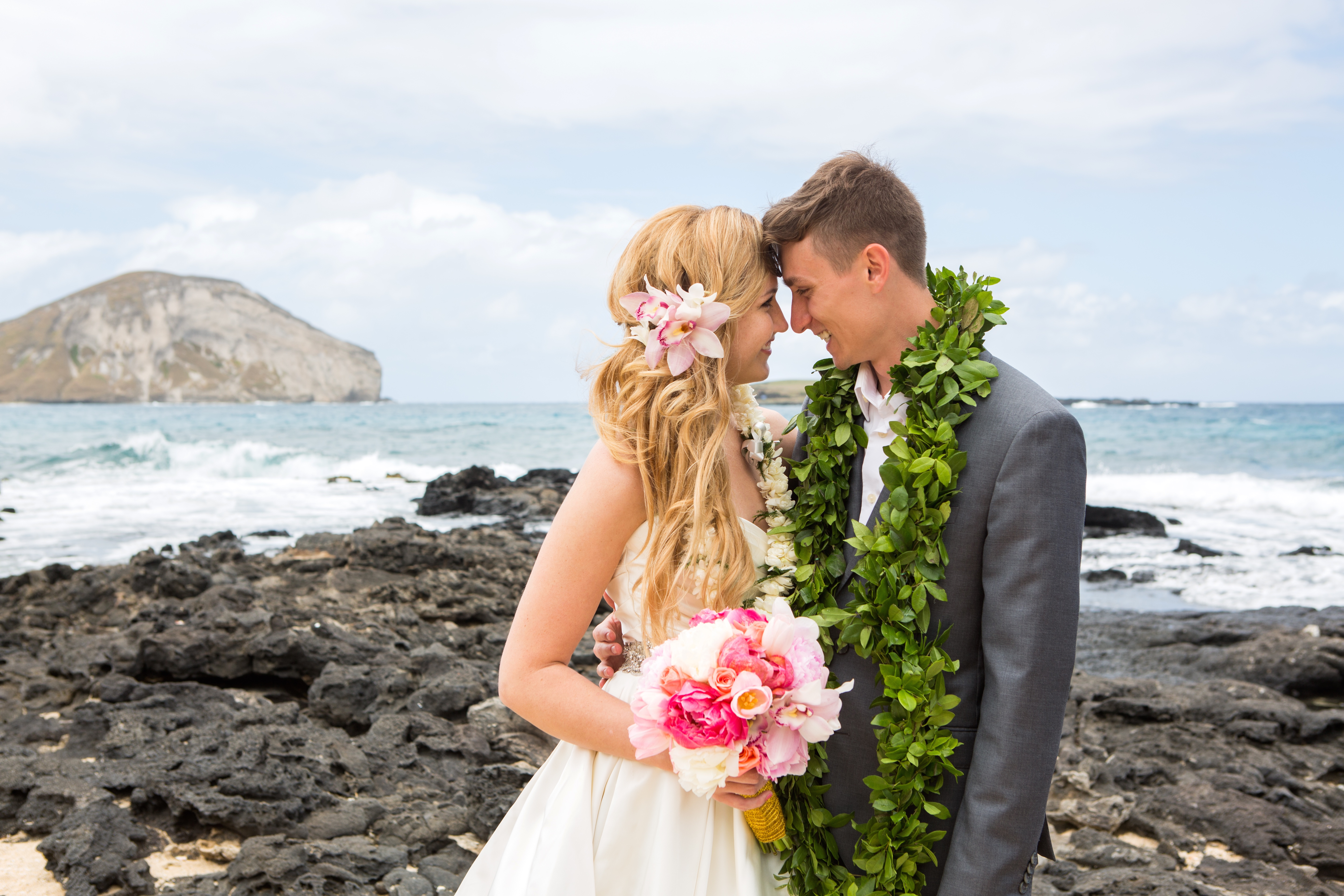 Hawaiian Wedding Pictre Romance -5