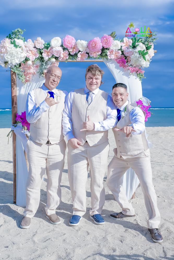 Waialae beach wedding-23
