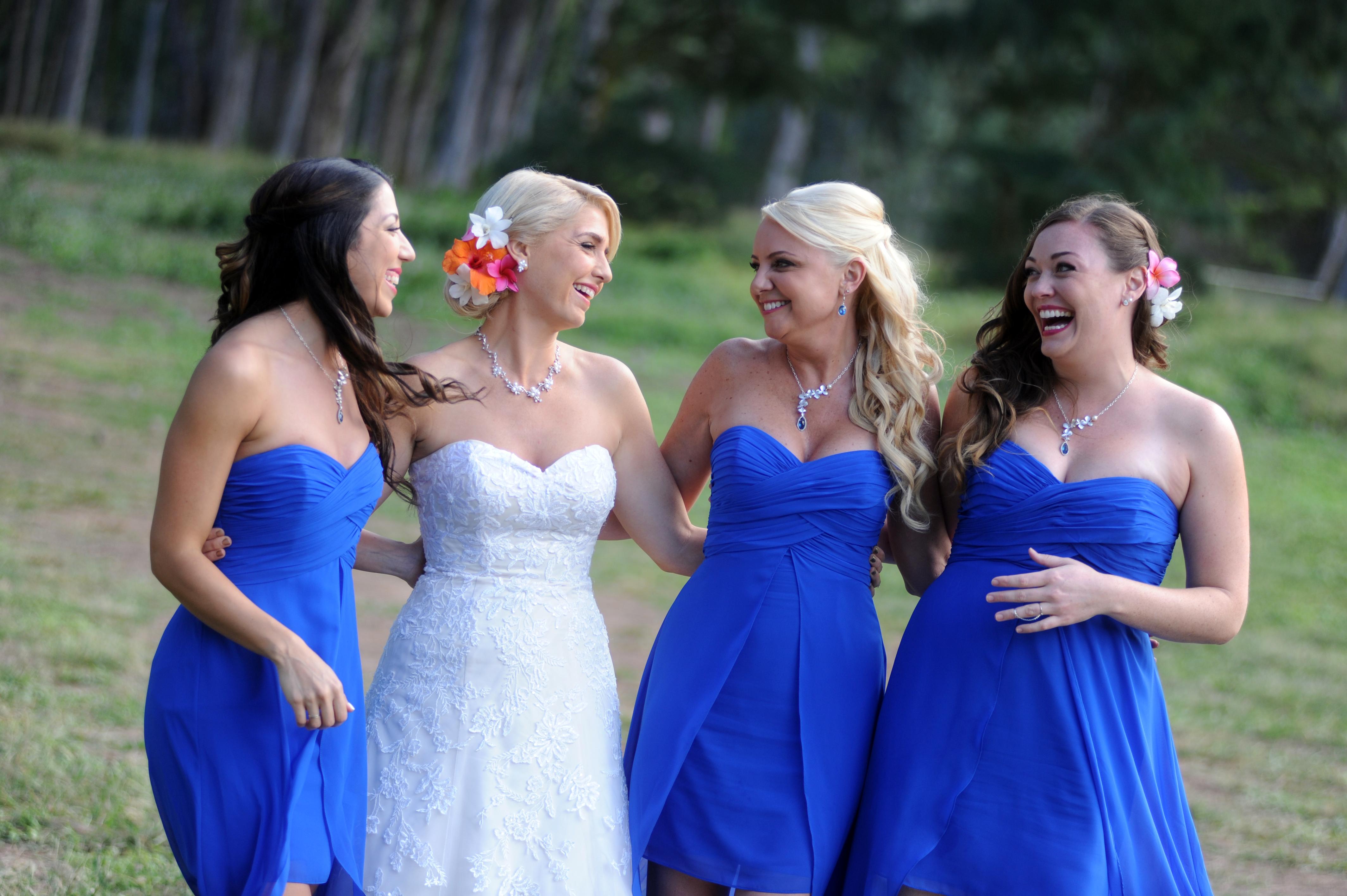 wedding In Hawaii -Bride -maids-18