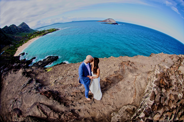 Beach wedding in Hawaii