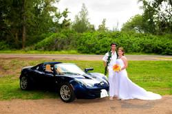 alohaislandweddings- Lotus car -22