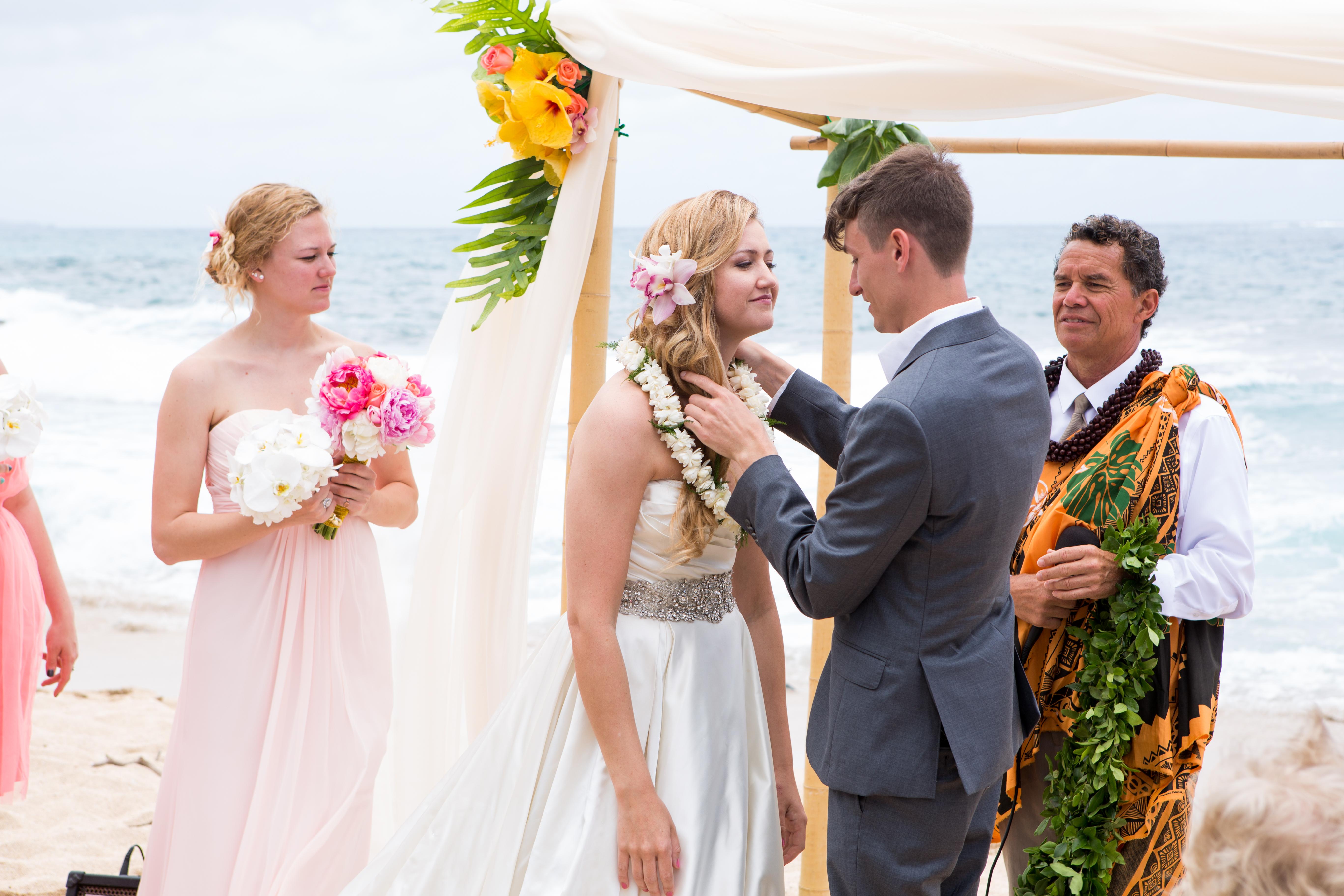 Hawaiian Wedding Ceremony -25