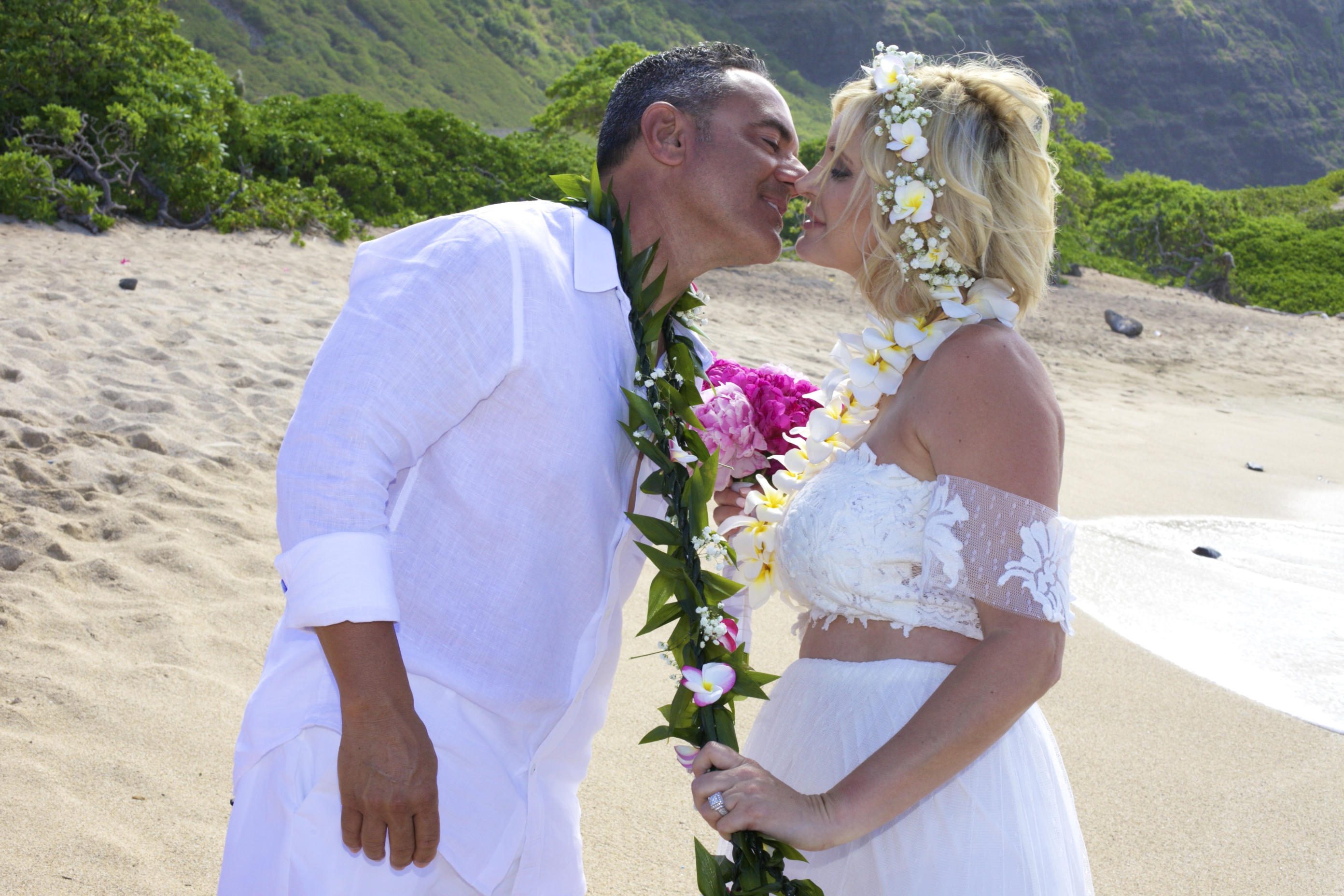 Vow Renewal in Hawaii -48
