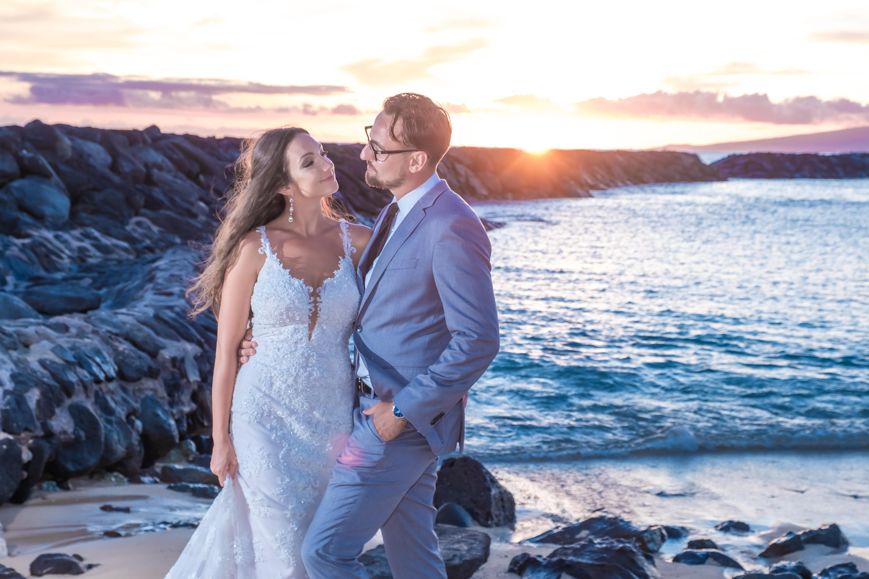 Magic island Hawaii beach wedding -35