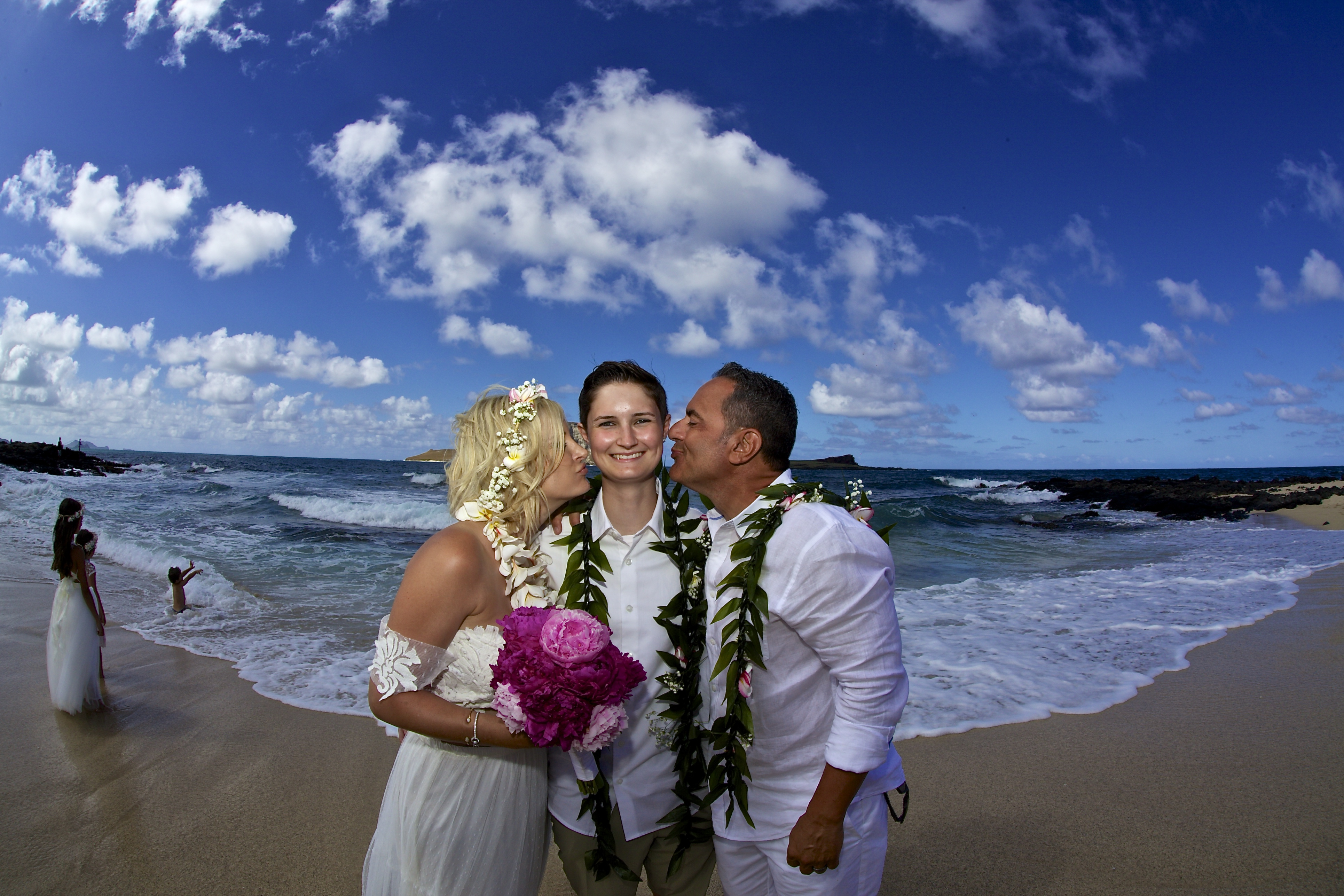 Vow Renewal in Hawaii -57