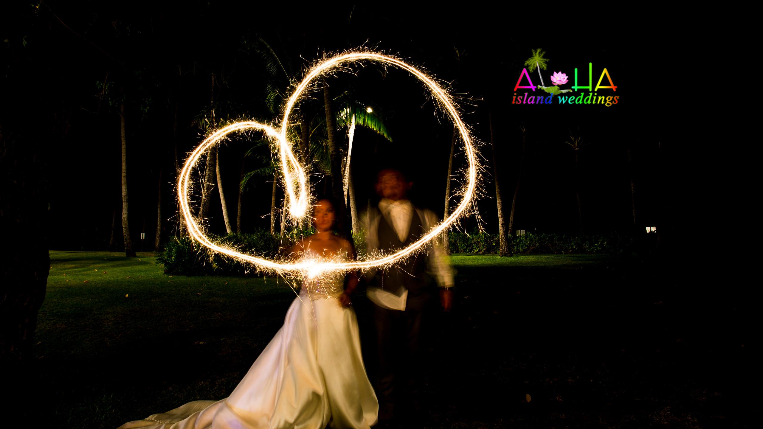 Hawaii wedding picture
