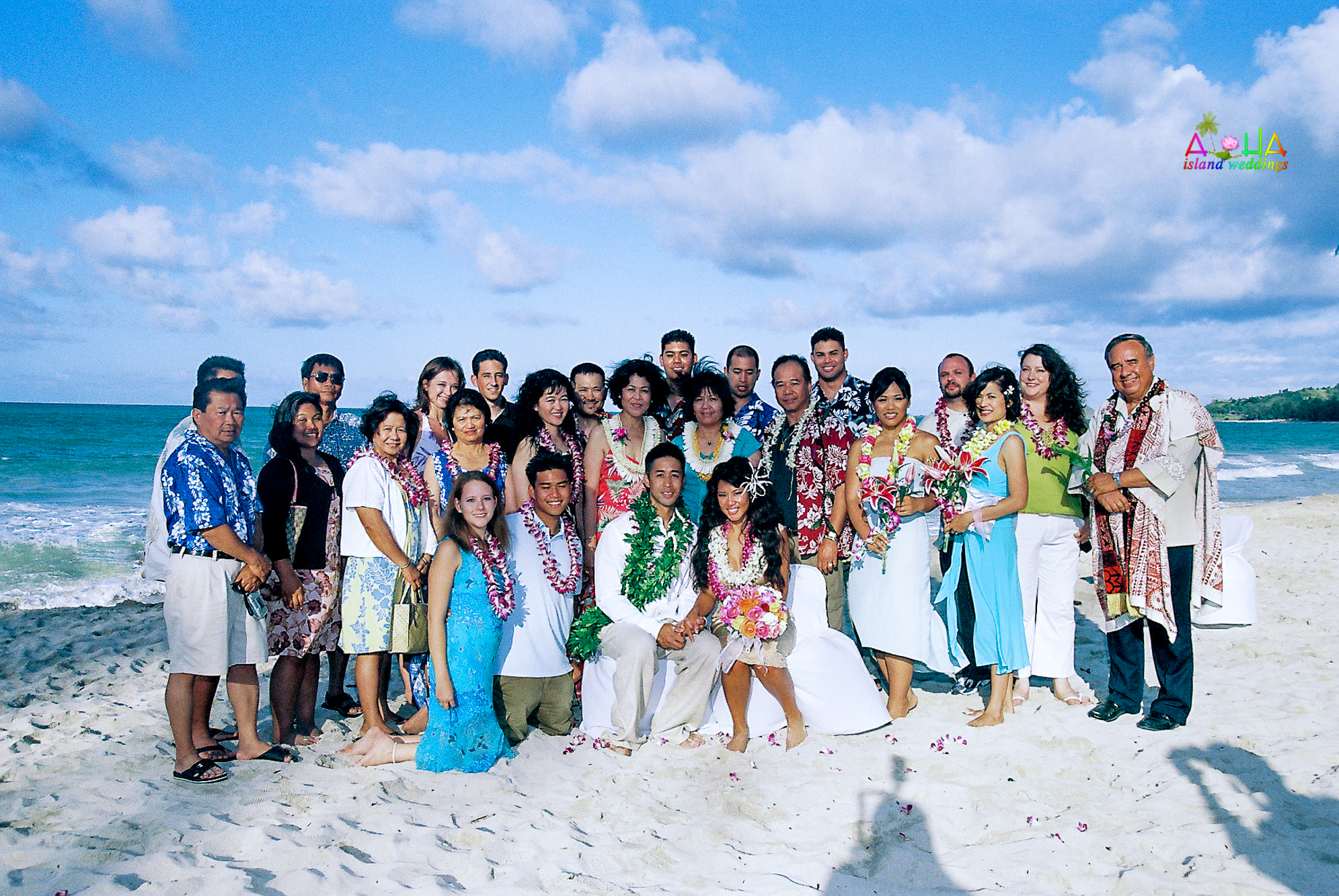 Beach wedding in Kailua-115