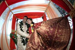 Hawaiian Indian Wedding Ceremony -0