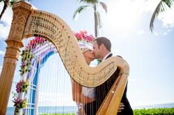 Harpist in Hawaii 15