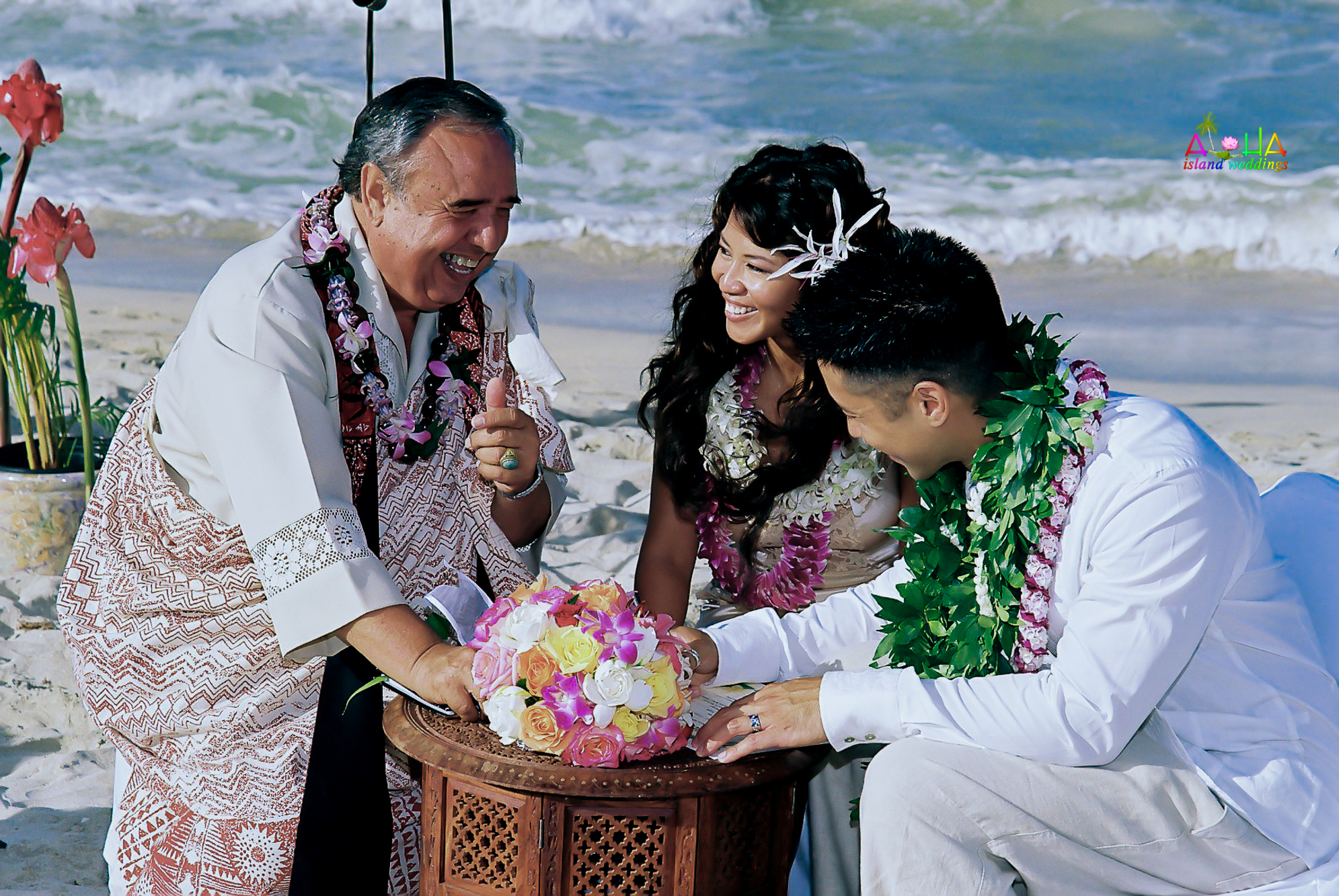 Beach wedding in Kailua-127