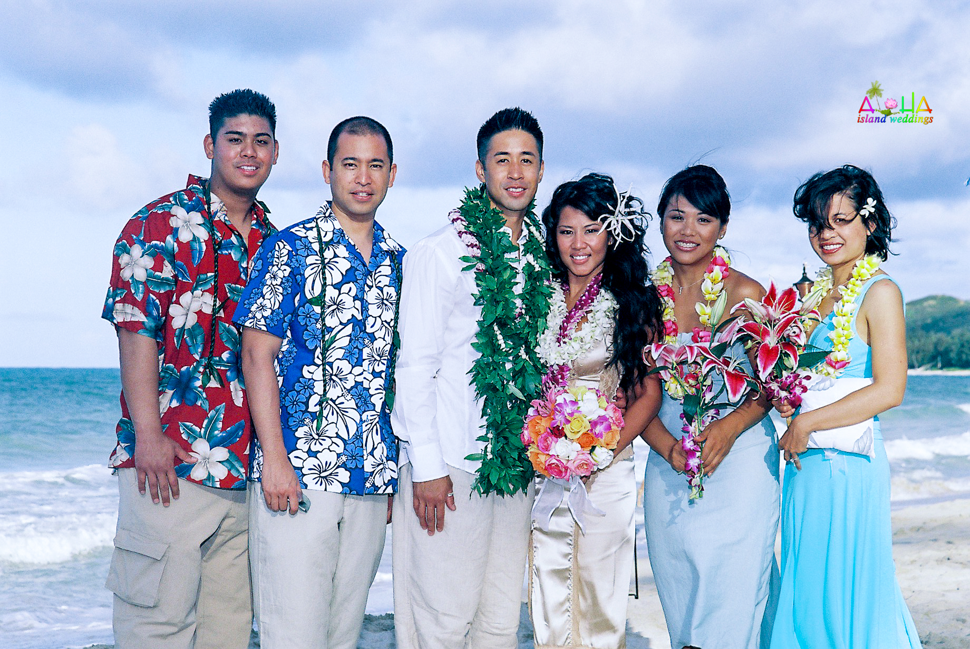 Beach wedding in Kailua-104
