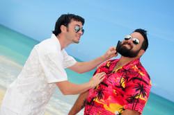 Hawaii beach wedding - lotus car 32