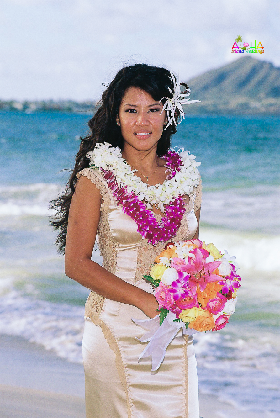 Beach wedding in Kailua-5