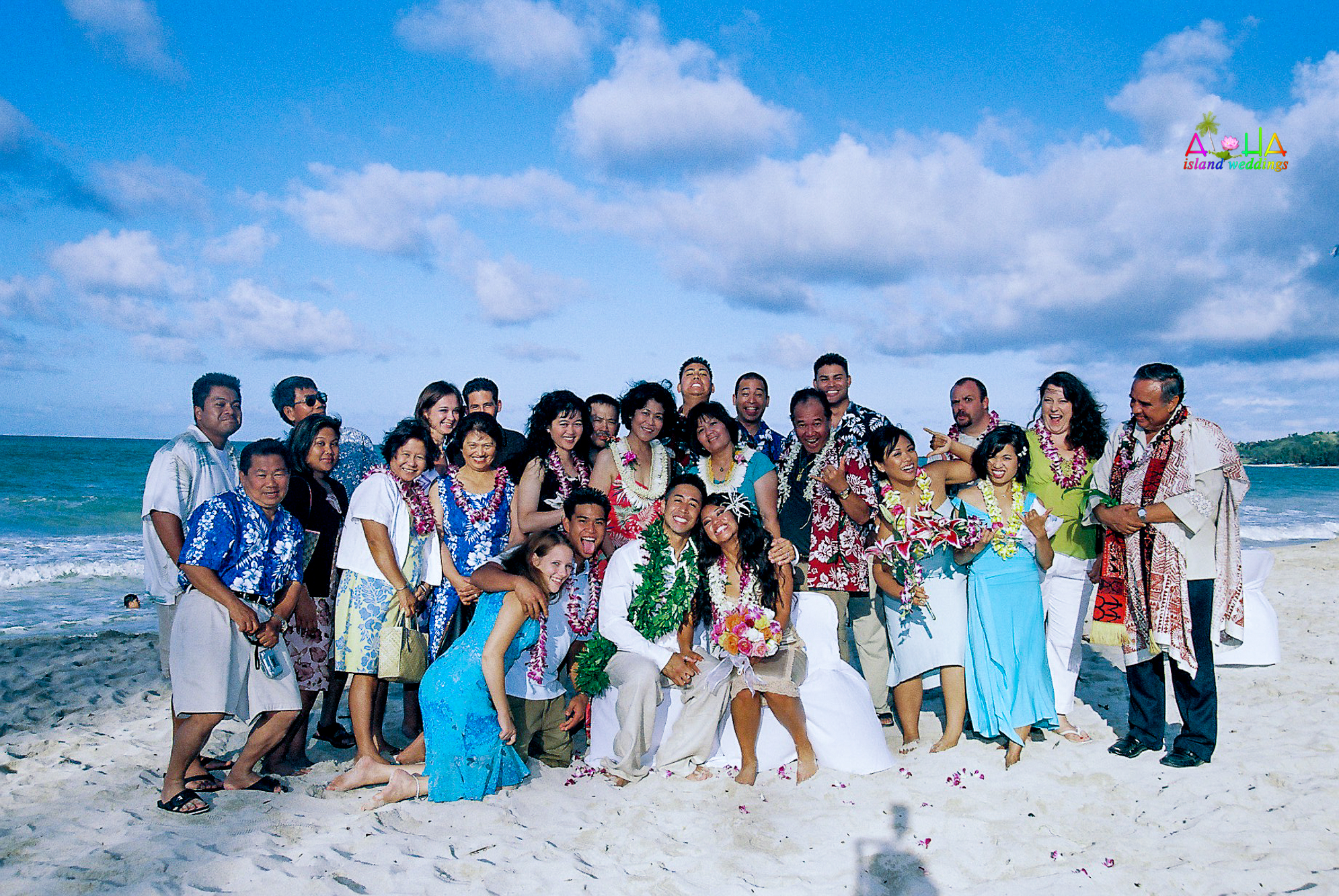 Beach wedding in Kailua-109
