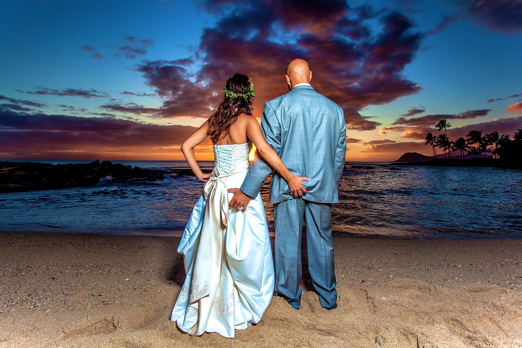 Sunset Photo at Koolina Hawaii