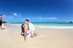Lanikai beach wedding photos-2