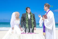 Sand wedding ceremony-9