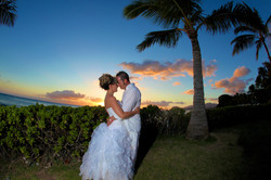 Sunset hawaii Wedding Picture -11