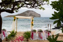 Hawaiian Wedding Ceremony -0