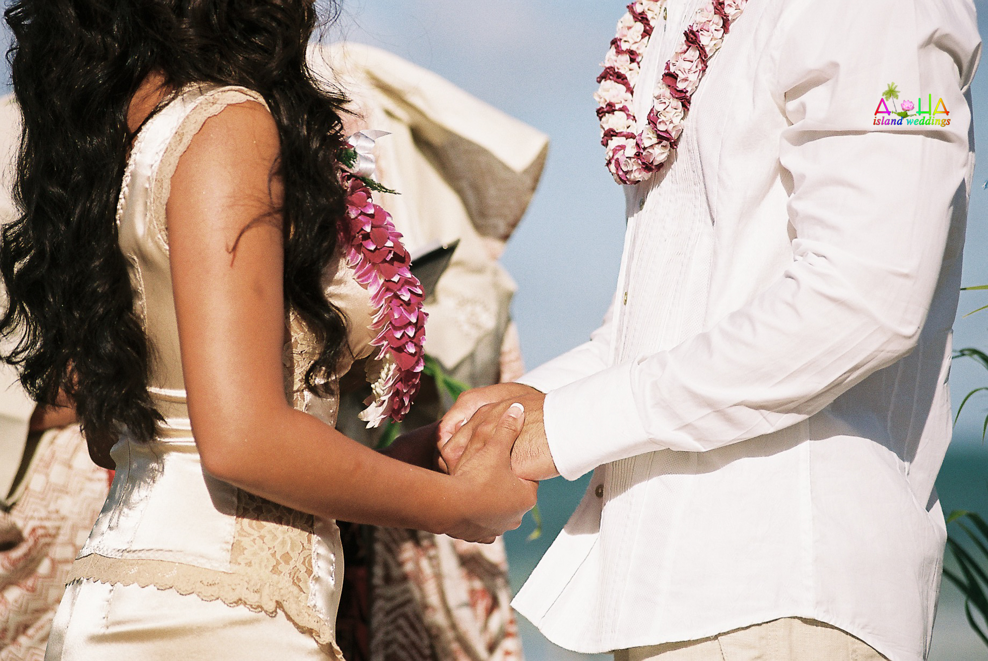 Beach wedding in Kailua-43