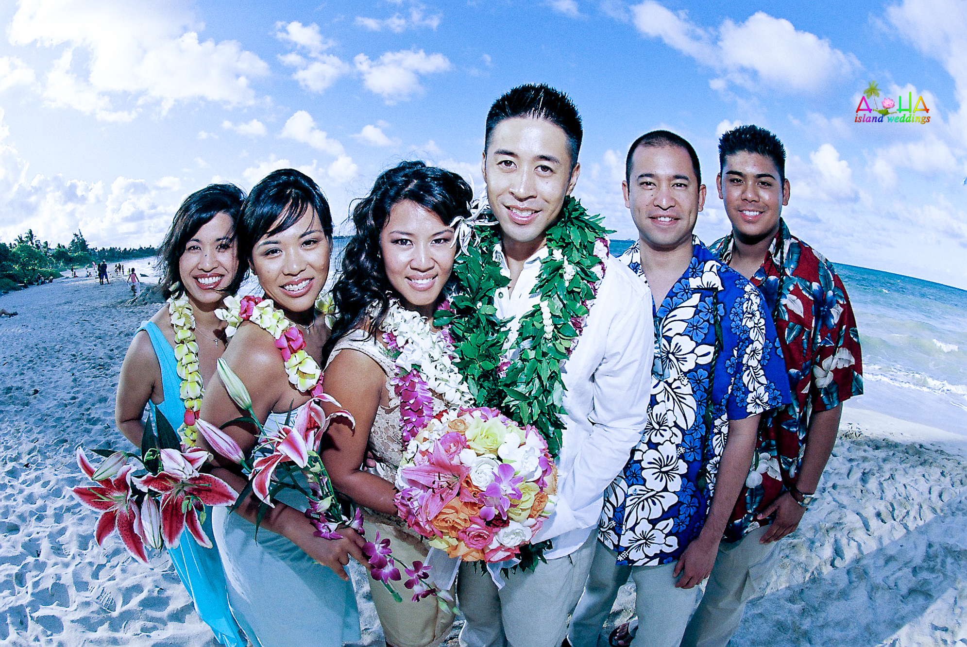 Beach wedding in Kailua-103