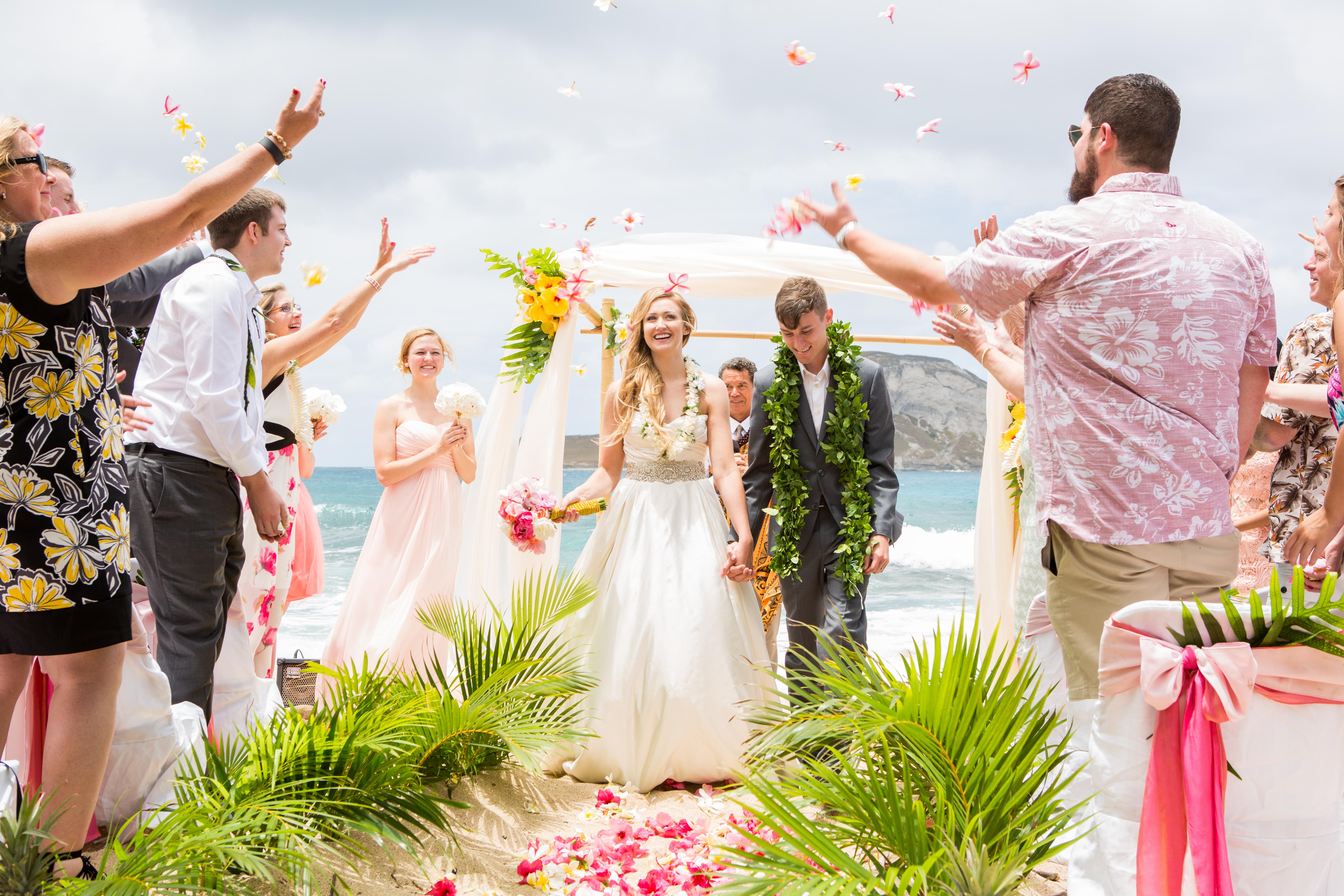 Hawaiian Wedding Ceremony -43