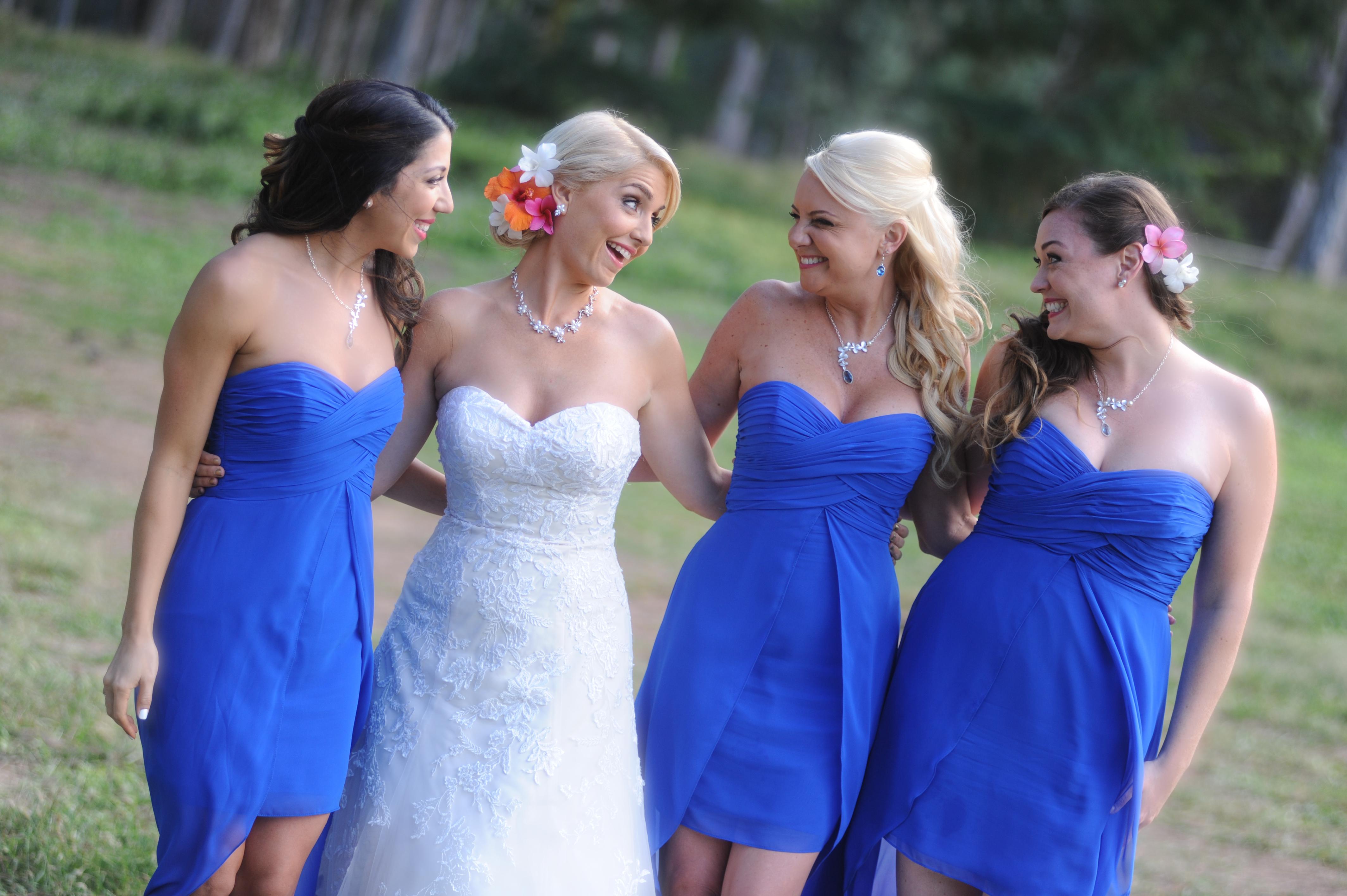 wedding In Hawaii -Bride -maids-17