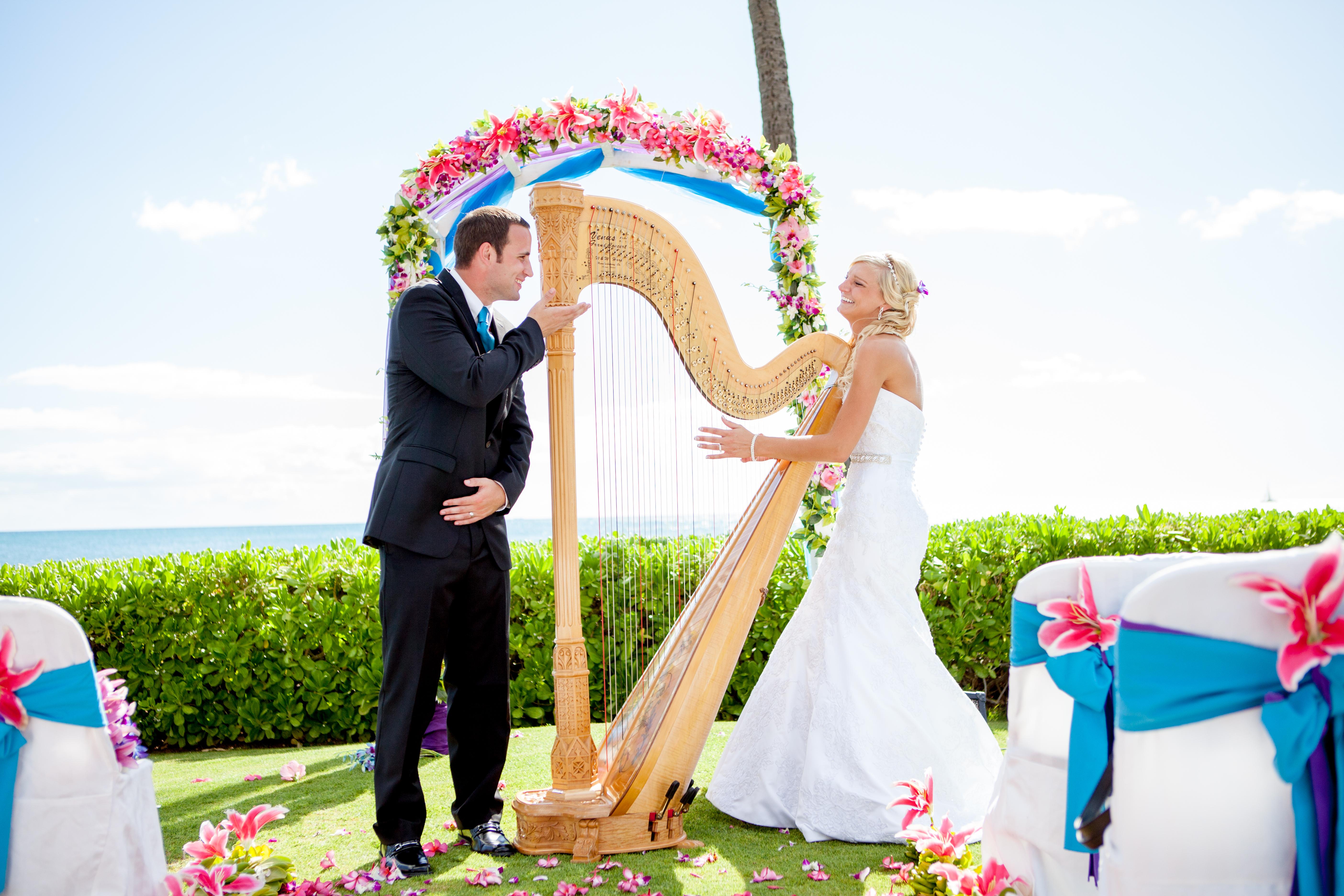 Hawaii Wedding Harp