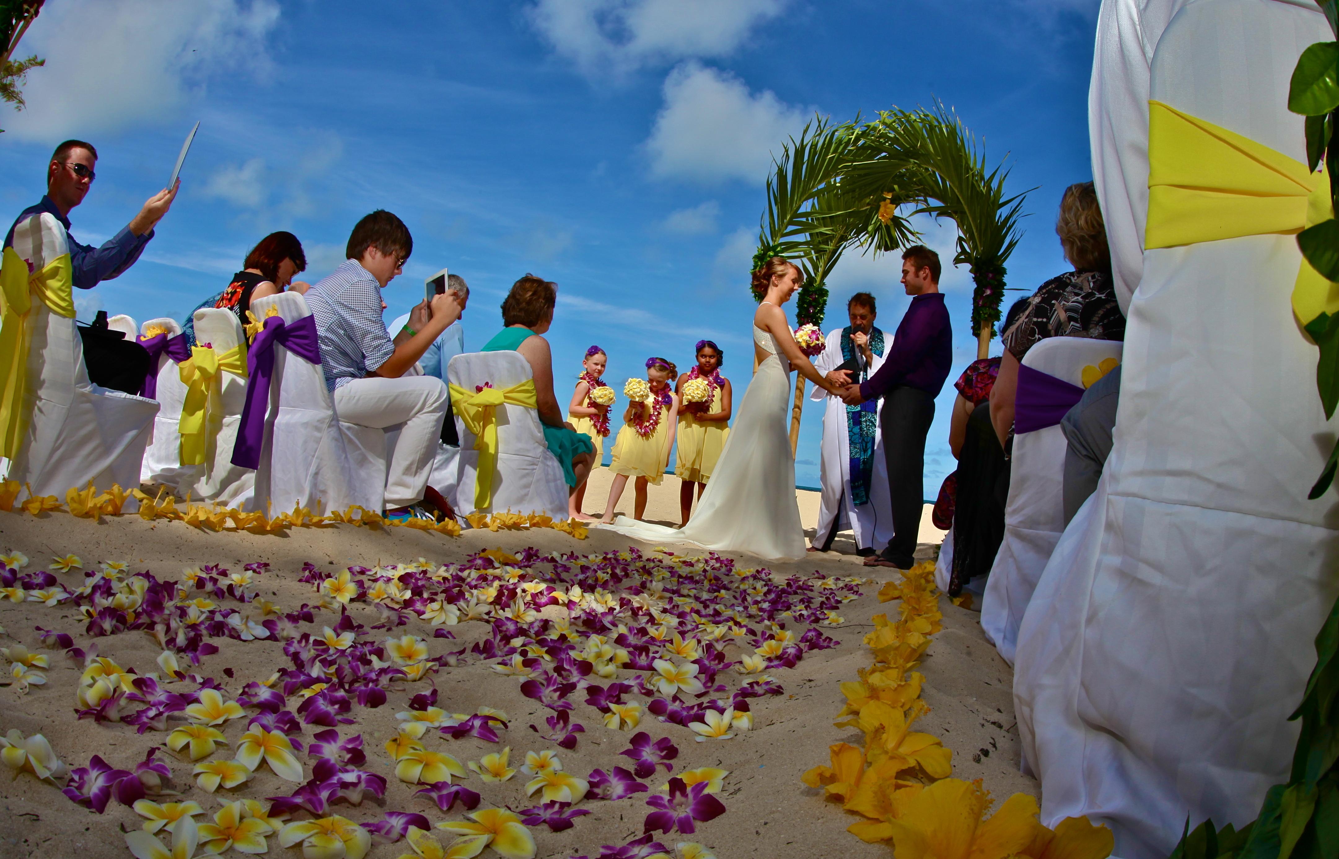 Hawaiian Wedding -4