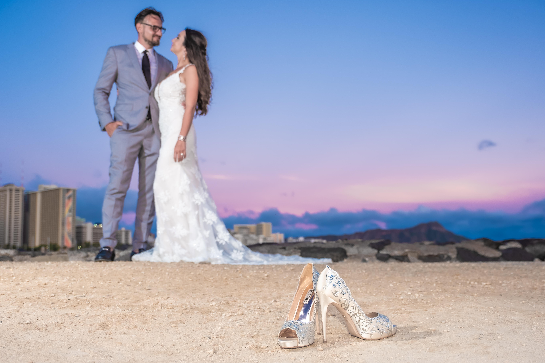 Magic island Hawaii beach wedding -19