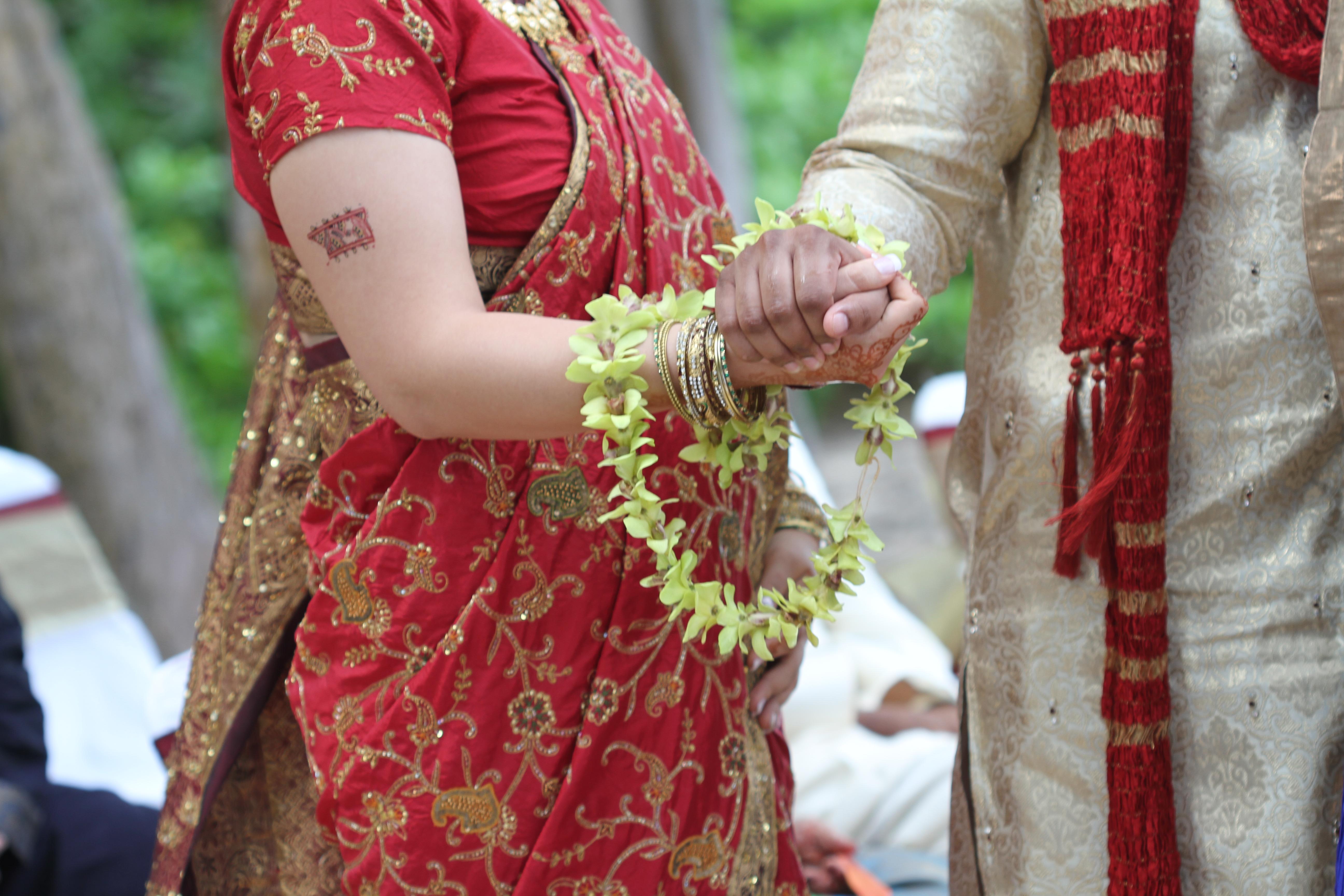 Hawaiian Indian Wedding Ceremony -2