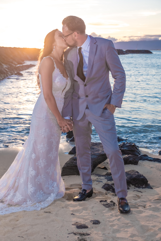 Magic island Hawaii beach wedding -50