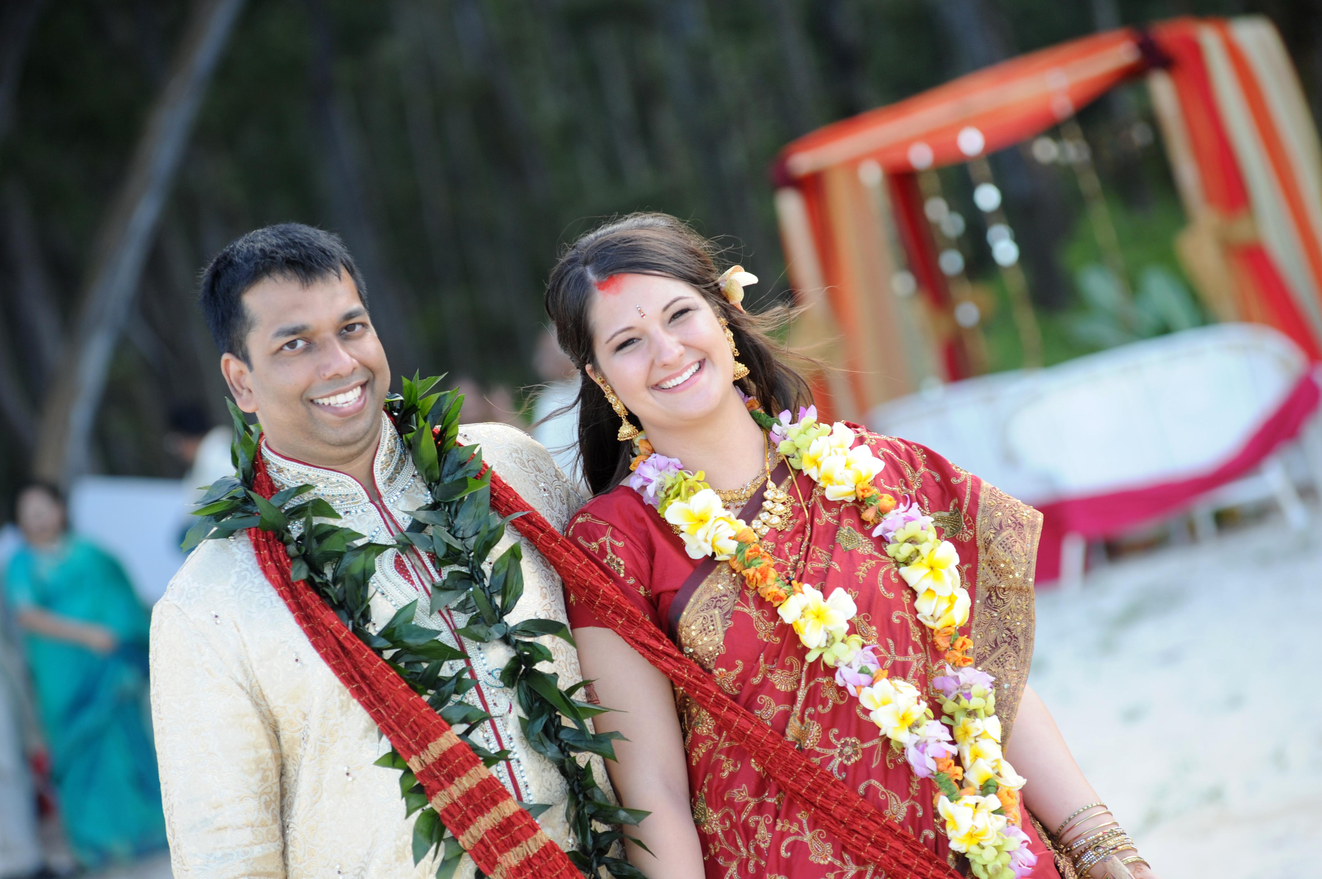Hawaiian Indian Wedding Ceremony -43