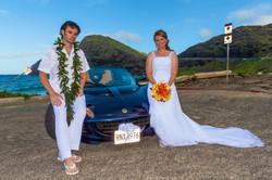 alohaislandweddings- Lotus car -19