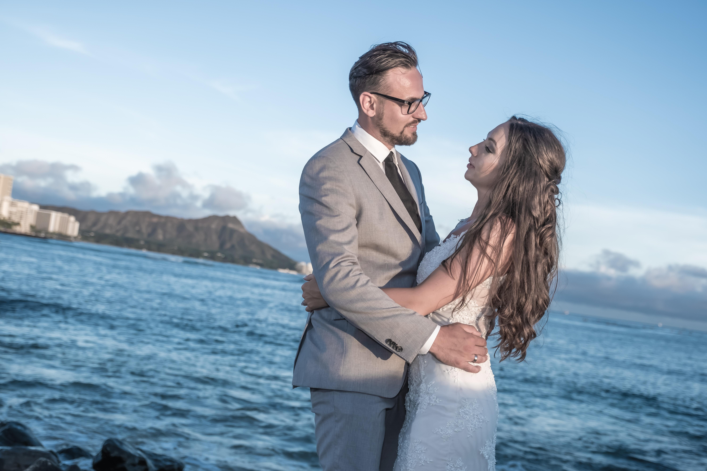 Magic island Hawaii beach wedding -72