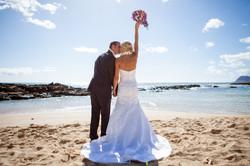 Hawaii wedding paradise cove 37