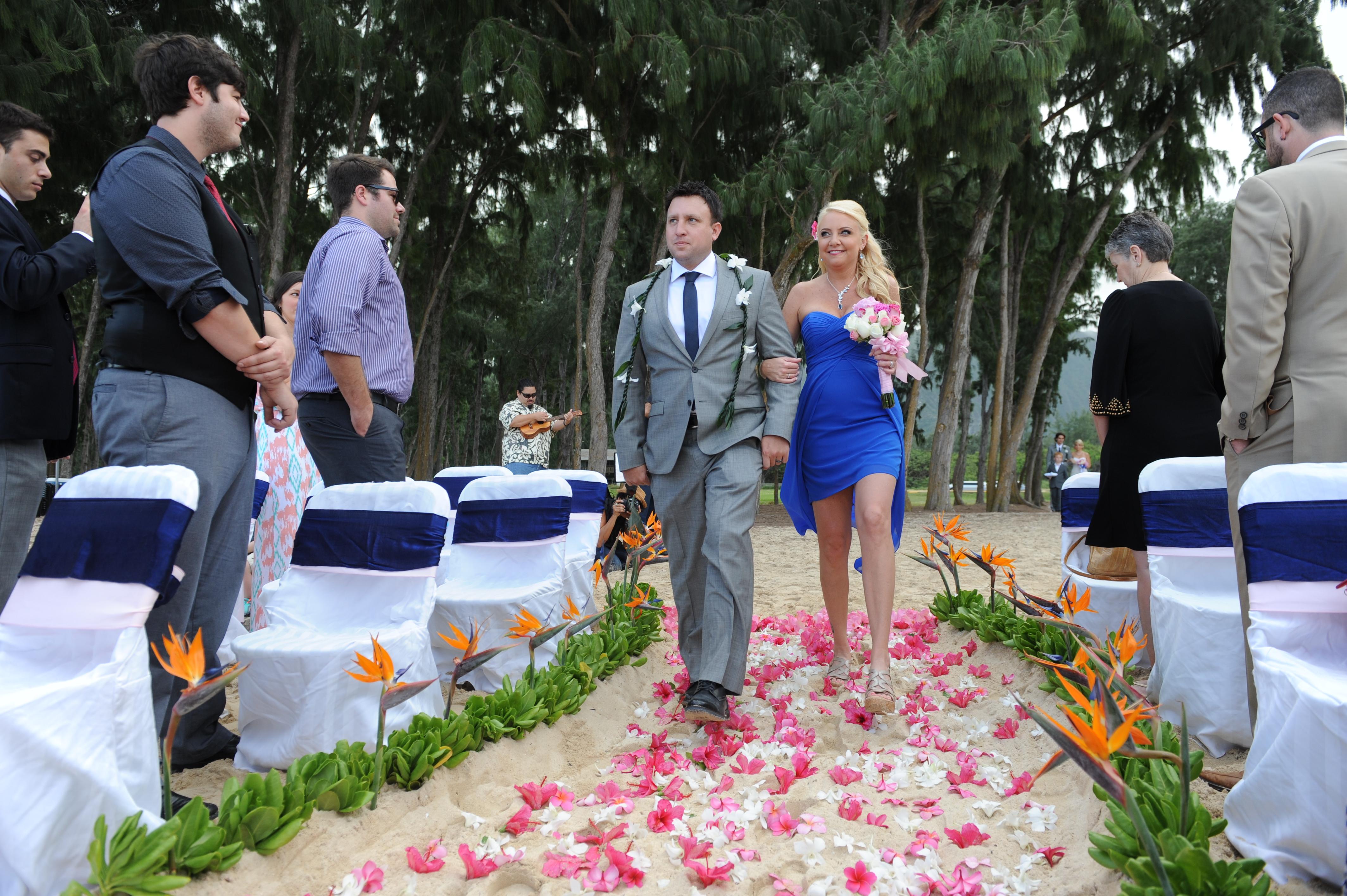 wedding In Hawaii - wedding ceremony-20
