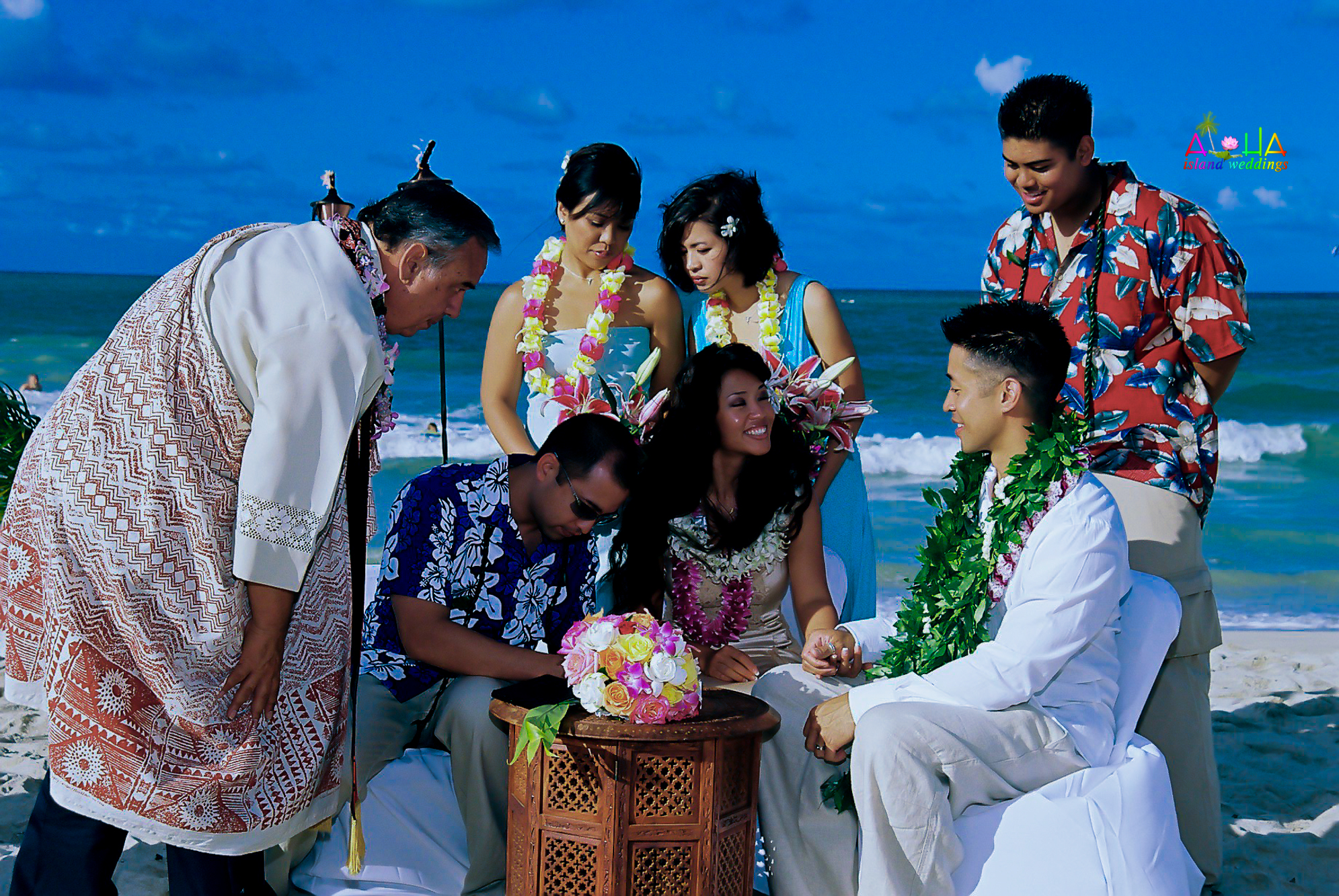 Beach wedding in Kailua-130