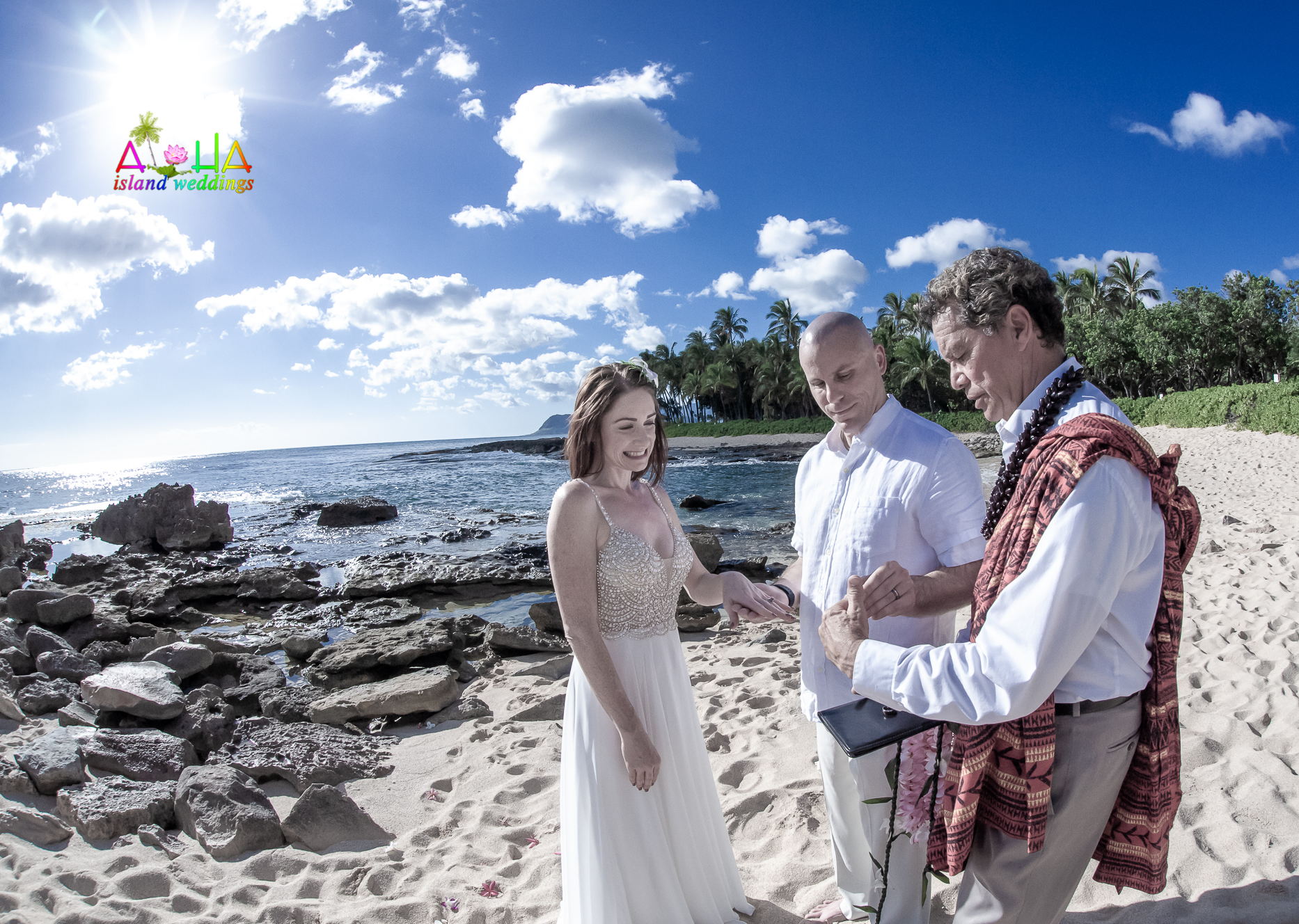 wedding or vow renewal site in the Ko'Olina-17