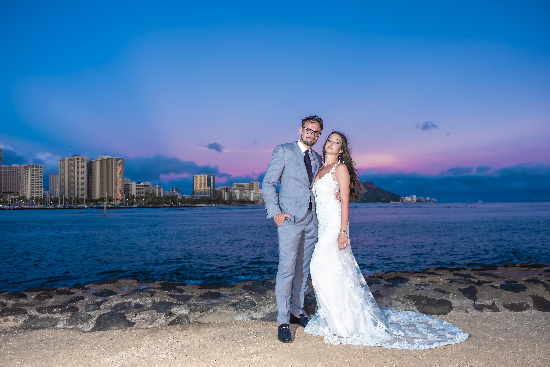 Magic island Hawaii beach wedding -22