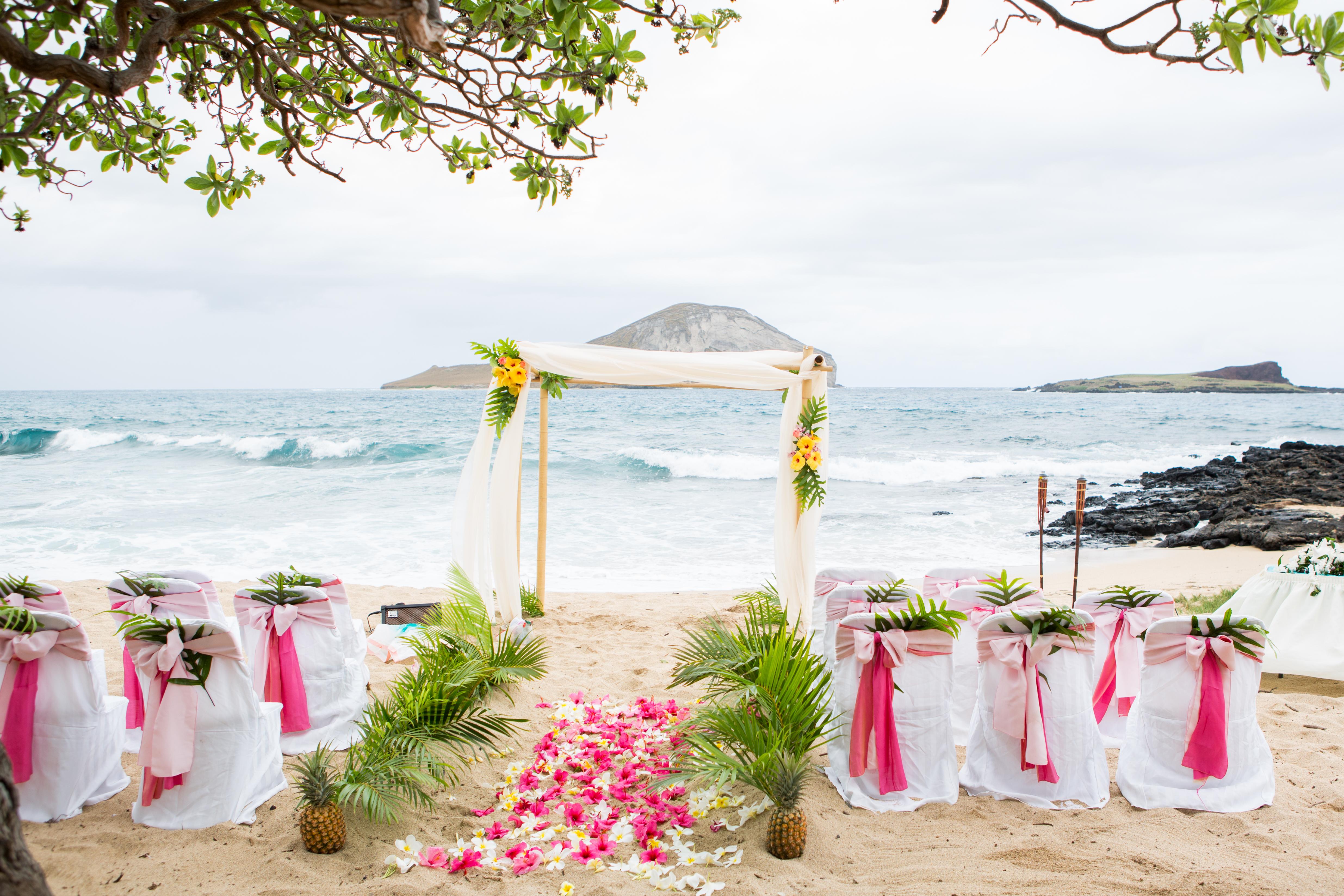 Hawaiian Wedding Ceremony -3