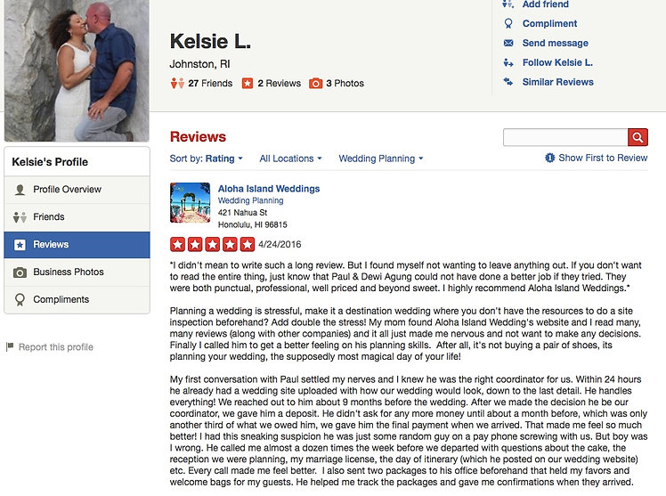 Review from wedding couples 11